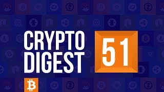 CD #51. Cryptocurrency market continues to fall. TRON partners with vSport. Ethereum