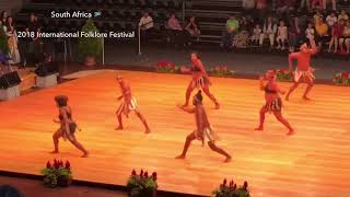 🇿🇦 SOUTH AFRICA  At 2018 International Folklore Festival Fribourg