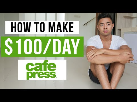 , title : 'How To Make Money With Cafepress in 2021 (For Beginners)