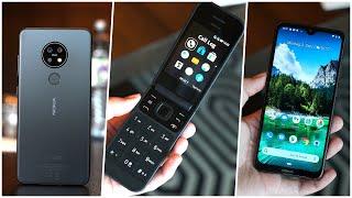 Nokia 7.2, 6.2, 2720 Flip, 110 & 800 Tough  - Meine Meinung & Ersteindruck (Deutsch)   SwagTab