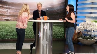 Ellen's Fans Face Off in a Nail-Biting Game to Go to the Super Bowl - Video Youtube