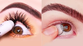 15 Glamorous Eye Makeup Ideas & Eye Shadow Tutorials | Gorgeous Eye Makeup Looks #120