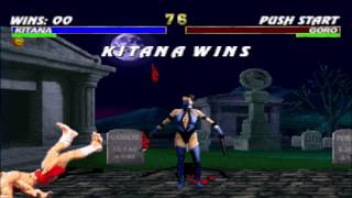 Kitana vs Goro Double Flawless HD
