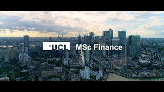 MSc Finance | UCL School of Management