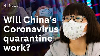 Coronavirus: China puts millions in lockdown amid rising deaths