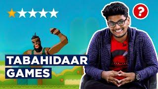 BeastBoyShub tries Tabahidaar Games | 1Up Gaming