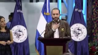 Nayib Bukele Inauguración Mercado Cuscatlán