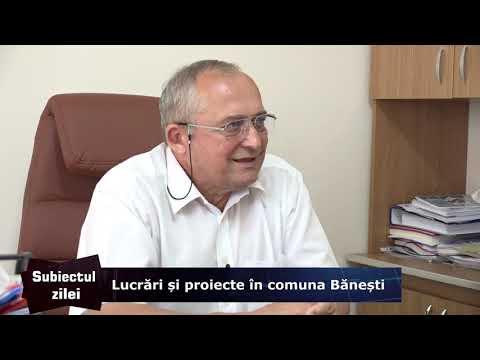 Lucrări și proiecte în comuna Bănești – Subiectul Zilei 08.08.2019