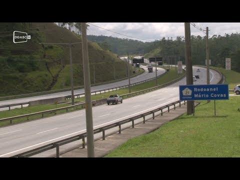 Veículos leves correspondem a 75% do fluxo do Rodoanel na região;