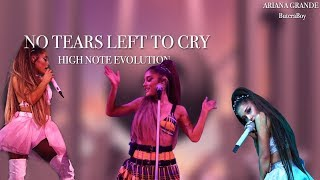 Ariana Grande No Tears Left To Cry High Note Evolution
