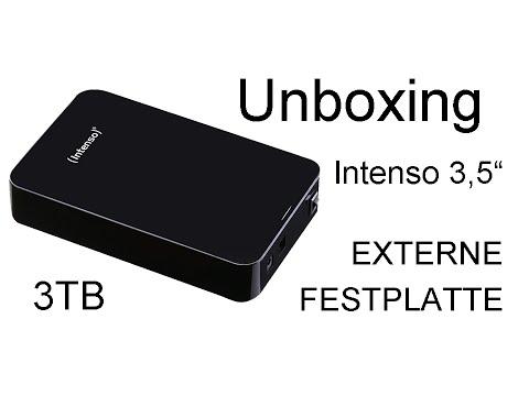 "Unboxing Intenso 3,5"" Externe Festplatte (3TB)"