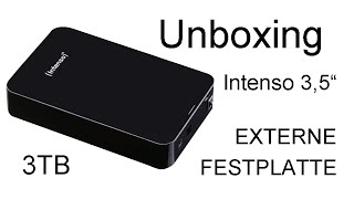 Unboxing Intenso 3,5