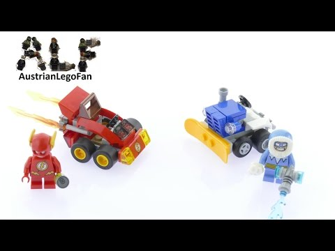 Vidéo LEGO DC Comics 76063 : Flash contre Captain Cold