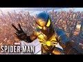 O Homem Aranha Com Roupa Preta spider man Ps4