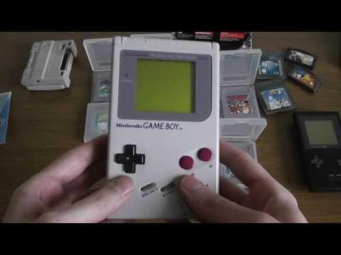 Ретро обзор консолей  Nintendo Game Boy . Часть 1 : Game Boy Classic DMG-01