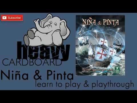 Heavy Cardboard Teaches Nina & Pinta & Full Playthrough!