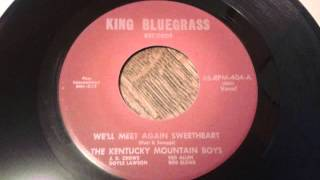 J.D. Crowe & the Kentucky Mountain Boys - We'll Meet Again Sweetheart