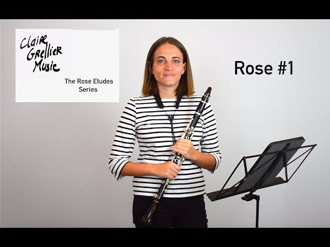 The Rose Etudes Series - Rose Etude No.1 for clarinet