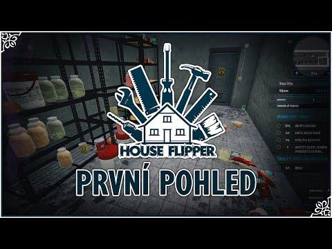 House Flipper [První pohled] S tchýní do bunkru!