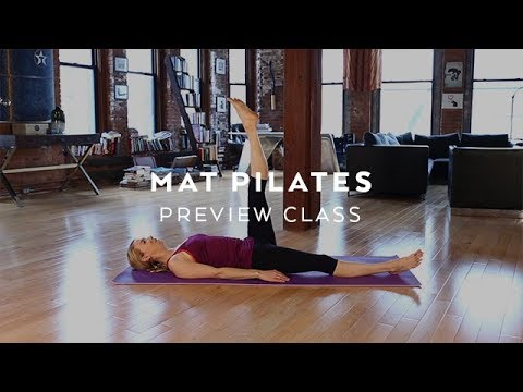 Free Pilates Class with Kristin McGee: At Home Pilates Workout ...