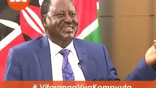 Raila Odinga explains #VifarangaVyaKompyuta