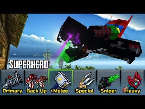 Superhero Weapons - Pixel Gun 3D