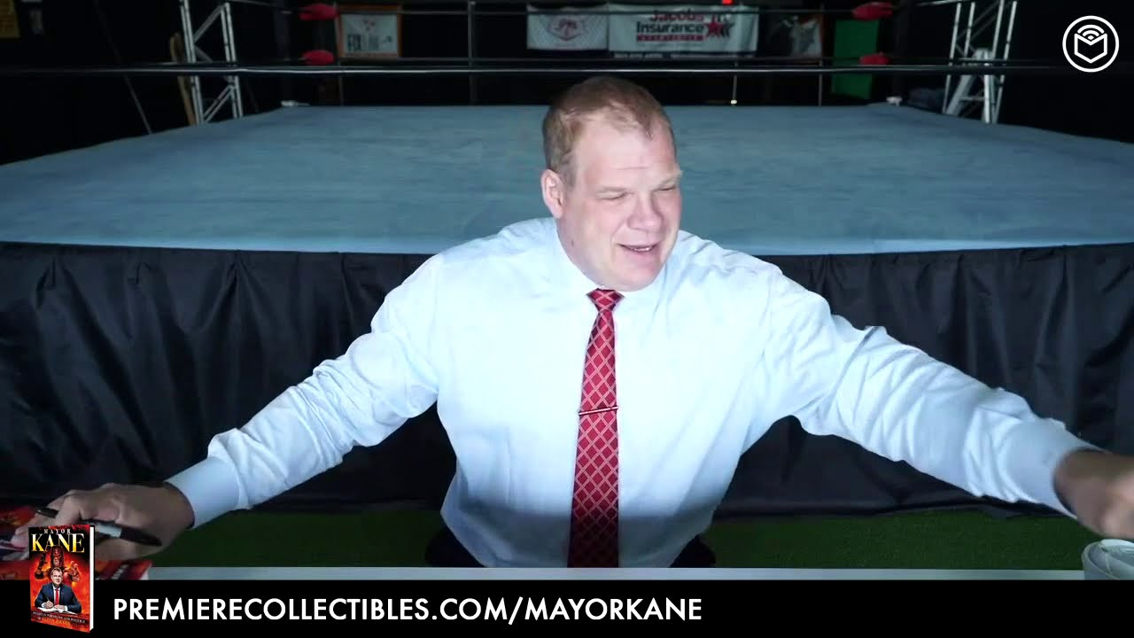 Mayor Kane: My Life in Wrestling and Politics by Glenn Jacobs