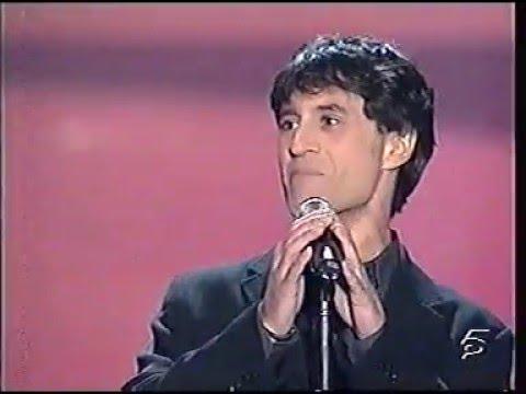 """Sergio Dalma: """"Sólo una vez"""" (Gala Miss España 2.001)"""
