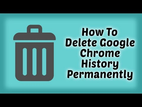 How To Delete Google Chrome History Permanently On Windows | Delete Browsing History