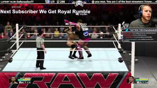 RKO OUT OF NOWHERE WWE 2K15 Online Ranked Play