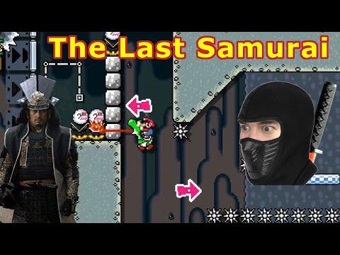 Extreme Upload -  Last Samurai - Infinite Checkpoint Mario Maker 2 Kaizo Level