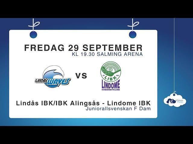 DJ17: Lindås IBK/IBK Alingsås – Lindome IBK