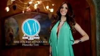 Franceska Toro Miss Mundo Toa Baja 2014 Presentation Video