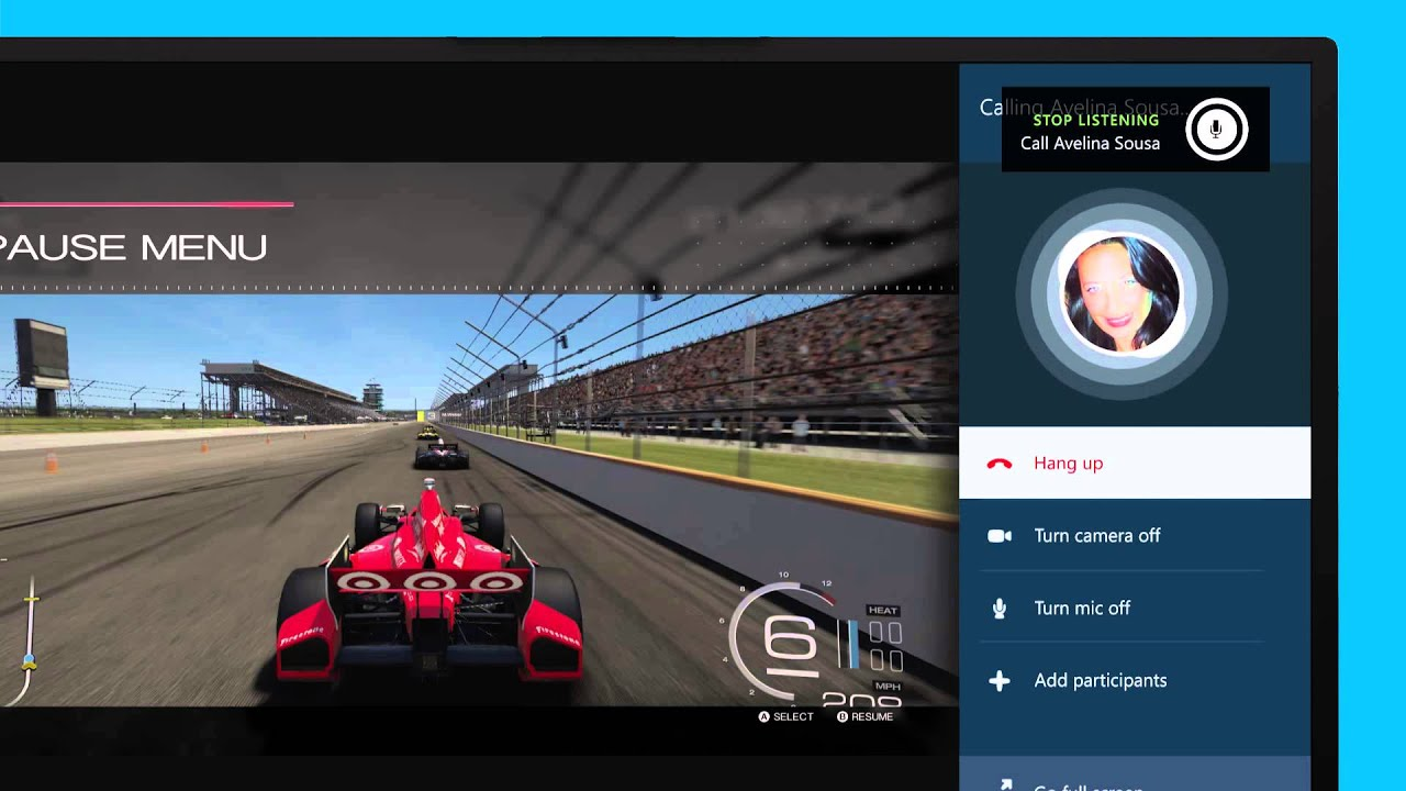 Skype Essentials for Xbox: How to use Snap View