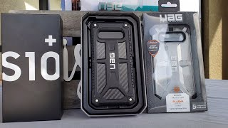 Samsung Galaxy s10 plus UAG monarch and plasma series cases review, best cases!