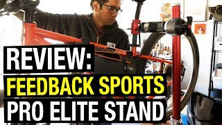 Feedback Sports Pro Elite vs. Sprint Repair Stand - Which is Better?