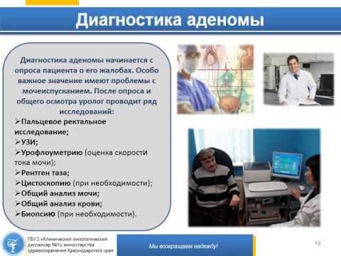 Анализа для простатита