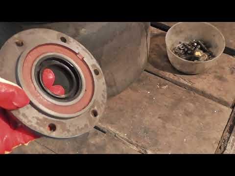Ремонт бежецкого компрессора с 416м, своими руками. На чём можно сэкономить.