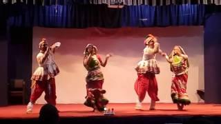Raas Garba Folk Dance Performance Fagan Aayo Atul