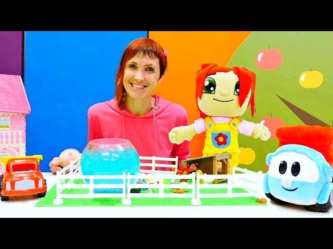 Сборник - Маша Капуки и грузовичок Лева строят ферму. Развивающие видео для детей
