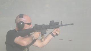 God & Guns -  A trigger to pull - Steve Lee -  Knob Creek Machine Gun Shoot