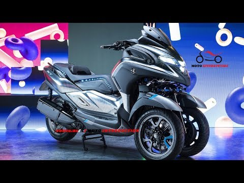New 2019 Yamaha 3CT Scooter debut at EICMA 2018 | New 300cc