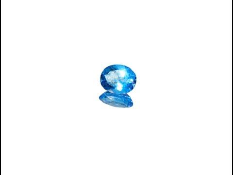 5.11 Carat Blue Topaz Gemstone