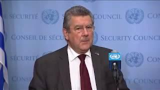 SC President, Elbio Rosselli (Uruguay) on D.P.R. Korea /non-proliferation