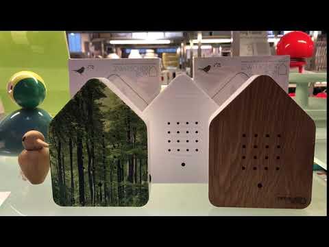 Zwitscherbox blanc, Faites rentrer la nature dans votre maison