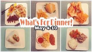 What's For Dinner? | Budget Dinner Ideas | Week of Family Meals