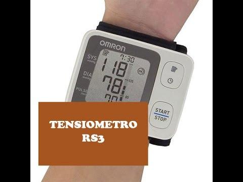 Tensiómetro Omron rs3 - Mide tu presión arterial en la muñeca