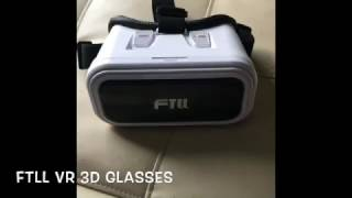 FTLL Virtual Reality Headset 3D VR Glasses VR Box Goggle Review