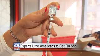 Health Experts Urge Americans to Get Flu Shot