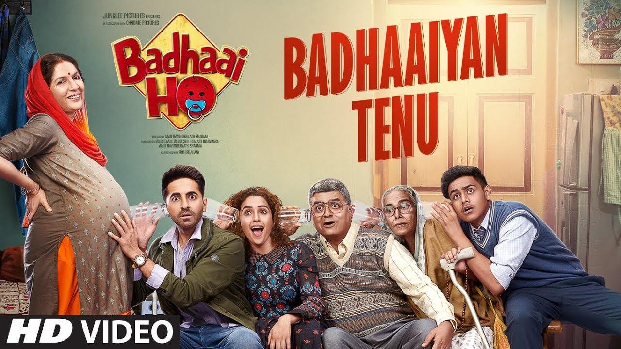 First song 'Badhaiyaan Tenu' of 'Badhai Ho' is out